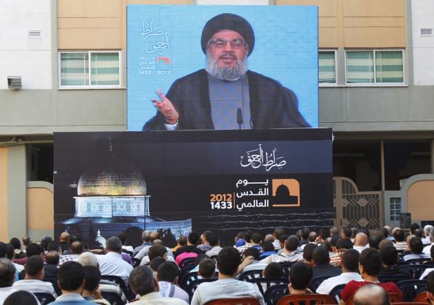 Hezbollah chief Sayyed Hassan Nasrallah