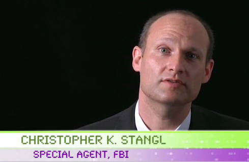 Christopher K. Stangl, Supervisor Special Agent at the FBI