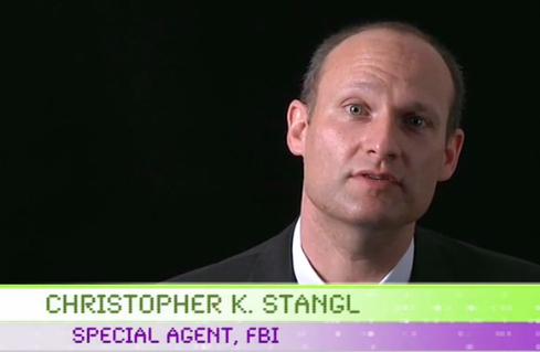 Christopher K. Stangl, Supervisor Special Agent at the FBI