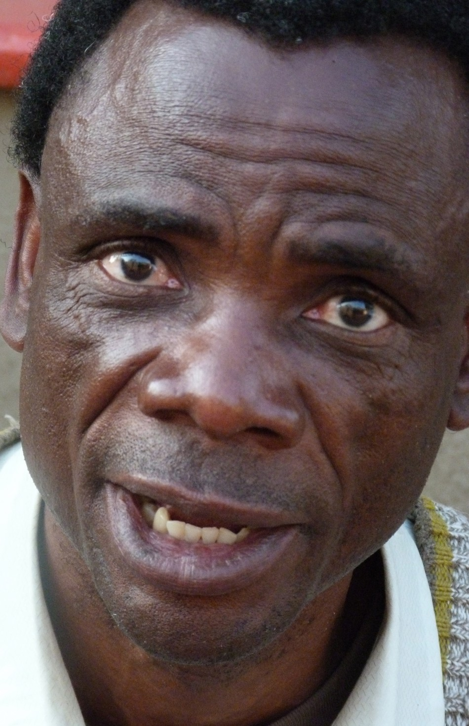 Lukozi Bulimwengo, a Congolese refugee in South Africa