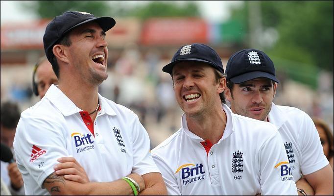 Kevin Pietersen and Graeme Swann