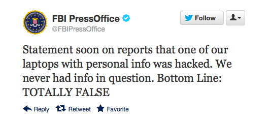 FBI Press Office