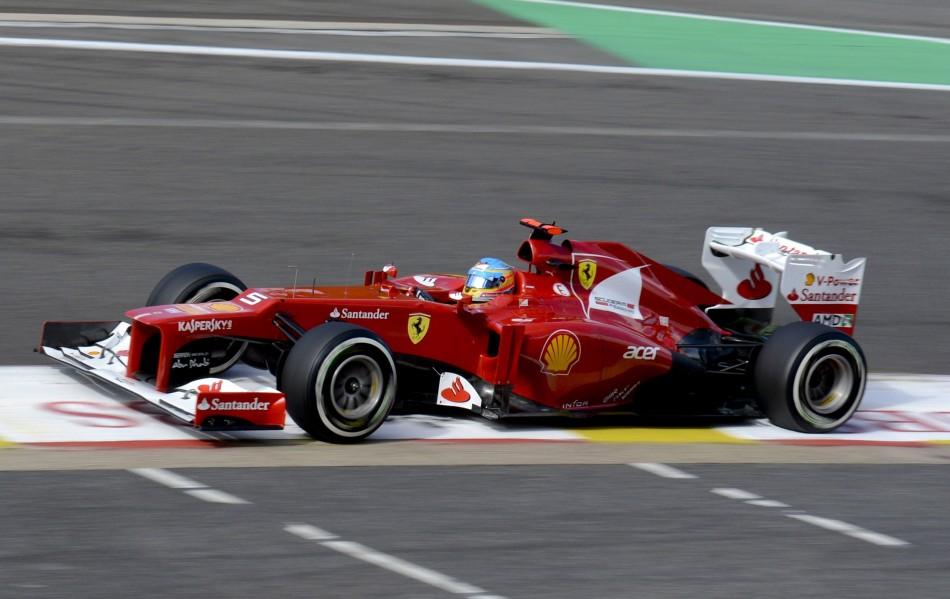 Fernando Alonso and Ferrari