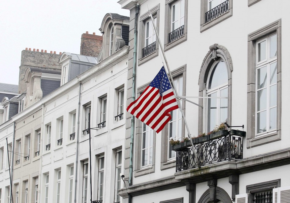 The US embassy in Brussel