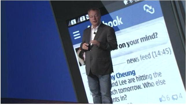 Stephen Elop Nokia Windows Phone 8