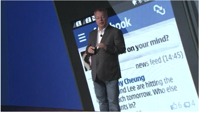 Stephen Elop Nokia Windows Phone 8