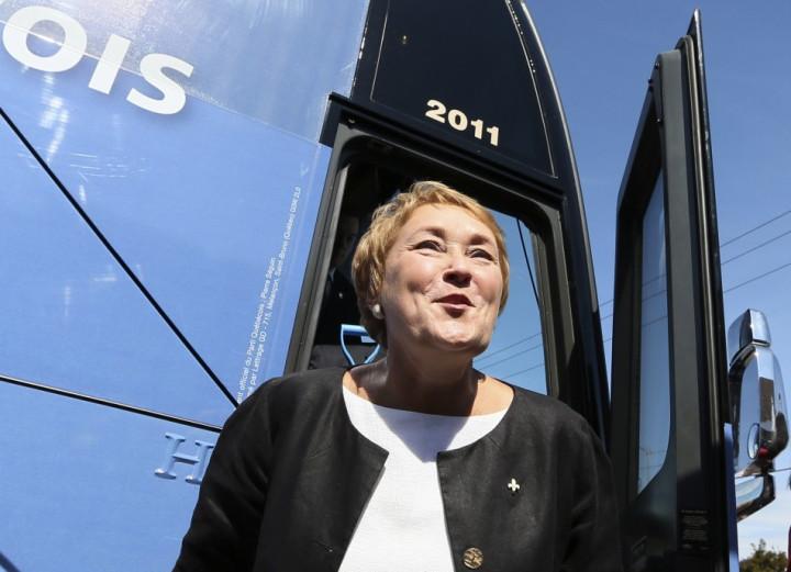 Parti Quebecois leader Pauline Marois (Reuters)