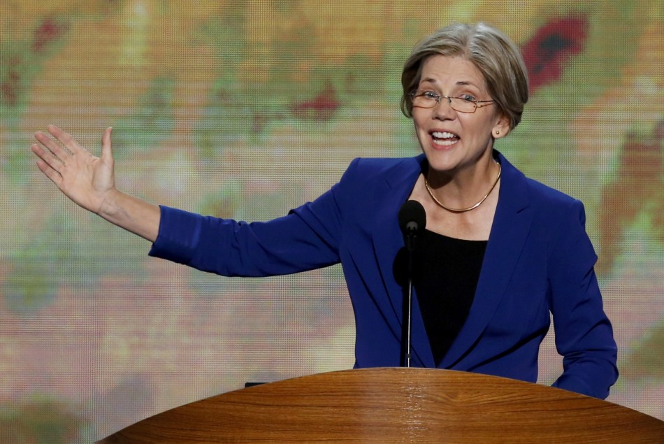 Elizabeth Warren at DNC