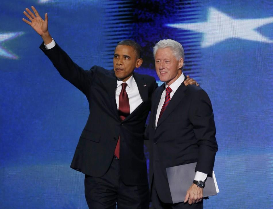 Bill Clinton backs Obama