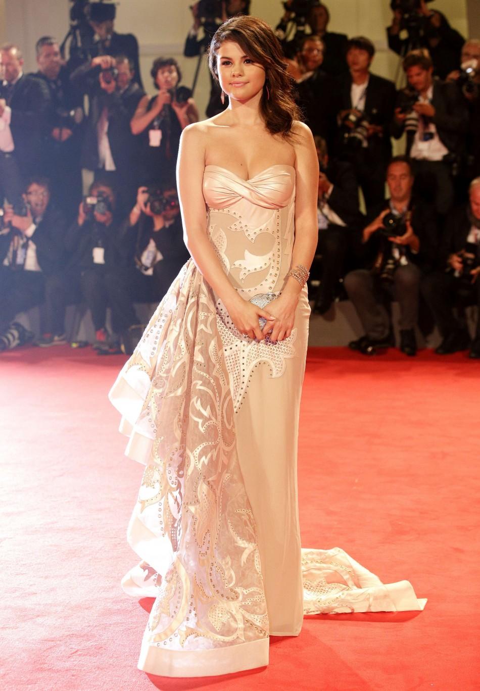 Venice International Film Festival Selena Gomez Stuns Red