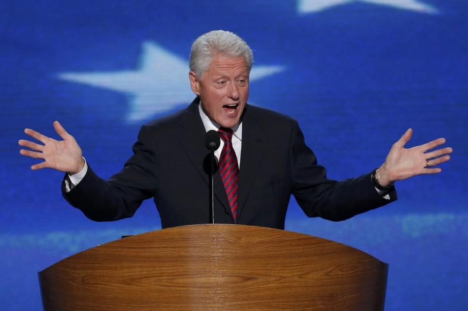 Bill Clinton Speaks at the 2012 DNC