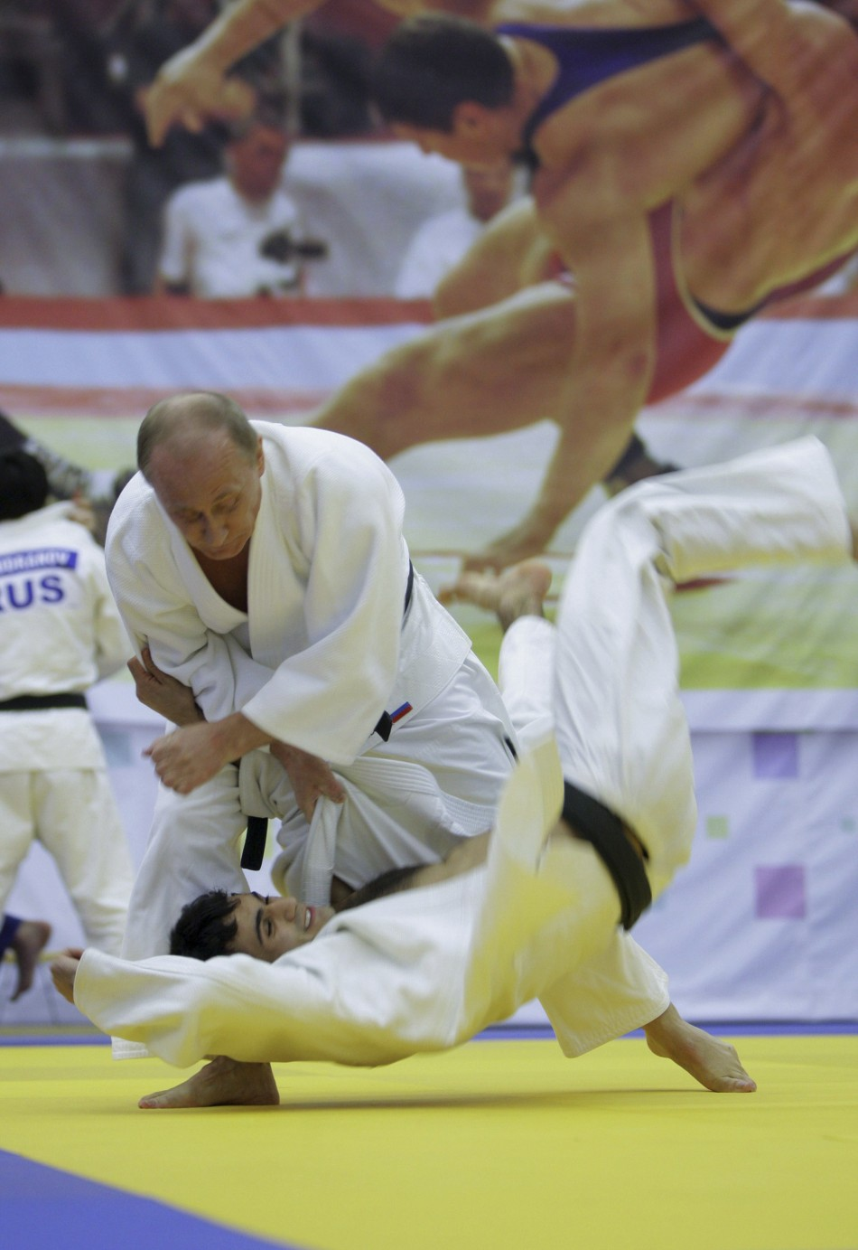 The judoka