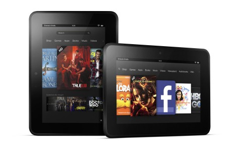 Amazon Launches 7in and 8.9in Kindle Fire HD Android Tablets - Coming to UK