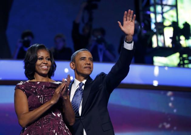Barack Obama at DNC