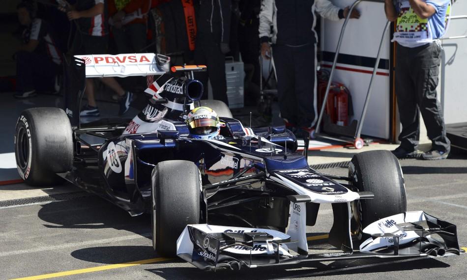 Williams' Pastor Maldonado
