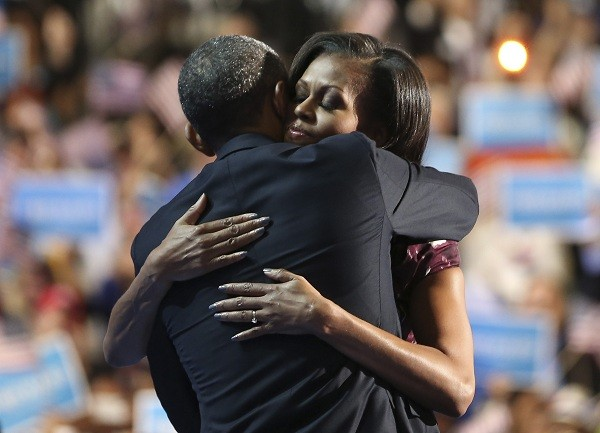 Obama wife