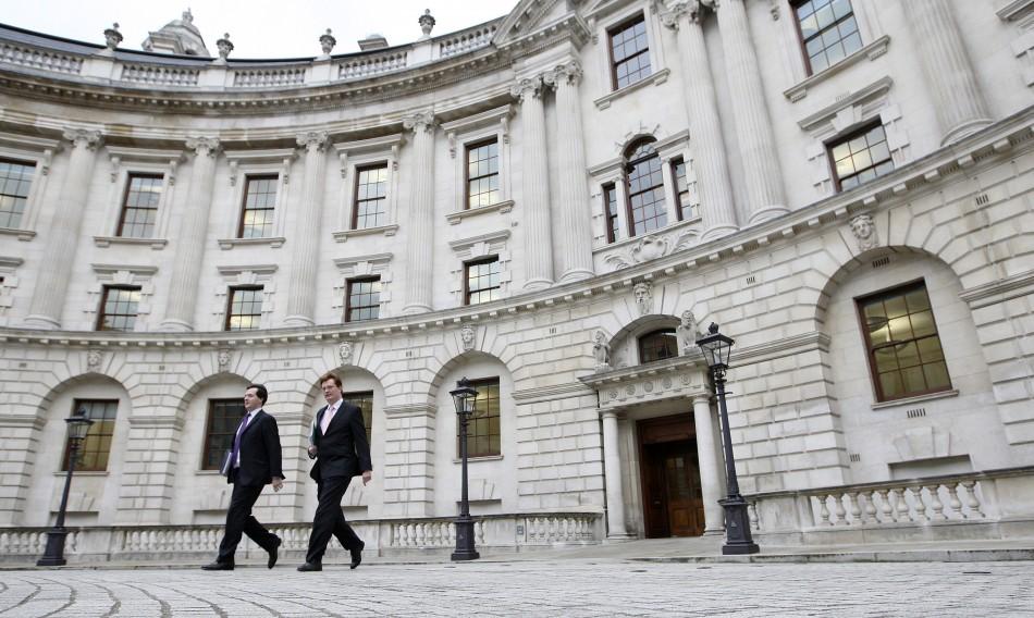 UK treasury misselling derivatives