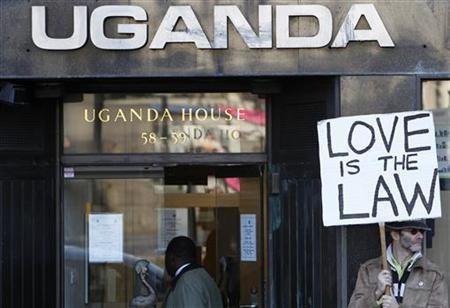 Pro-gay activist in Uganda