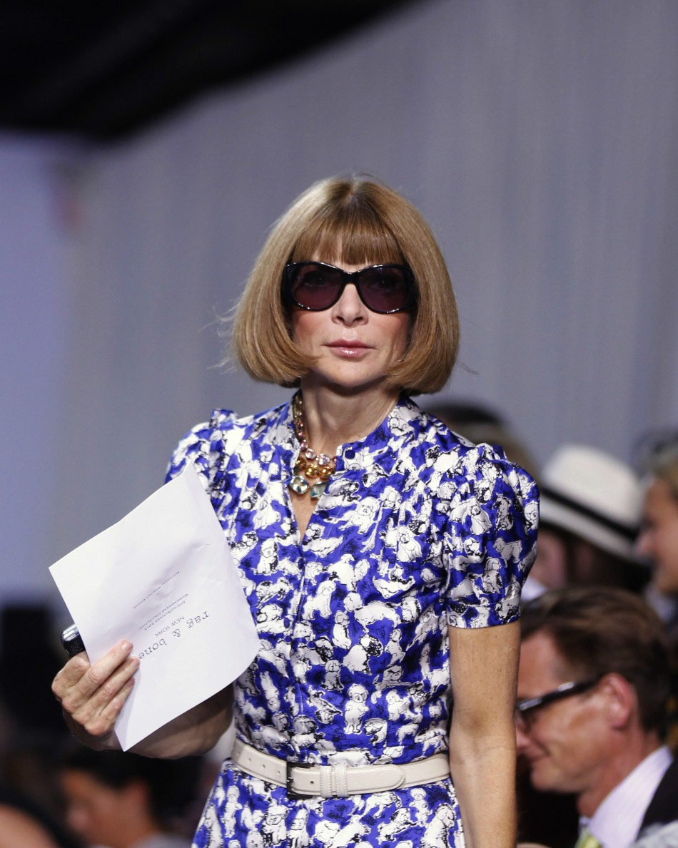 Anna Wintour at Rag and Bone