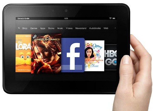 Amazon's  7in Kindle Fire HD