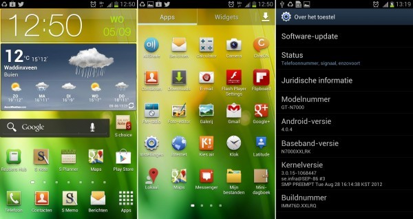 Update Galaxy Note to Android 4.0.4 ICS with XXLRQ Official Firmware [How to Install]