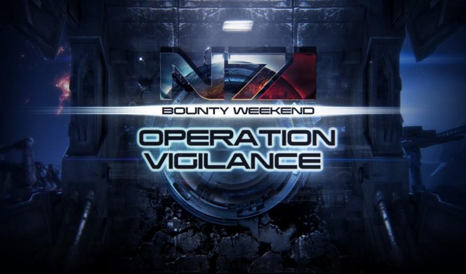 Mass Effect 3: Operation Vigilance N7 Multiplayer Weekend Kicks Off