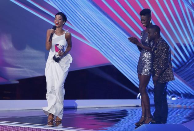 Rihanna at the 2012 MTV VMAs