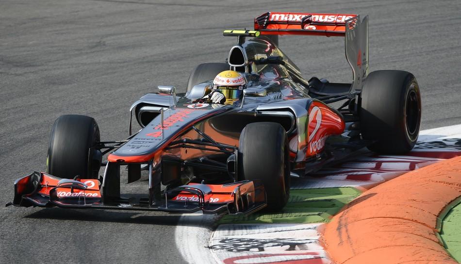 Lewis Hamilton of McLaren-Mercedes