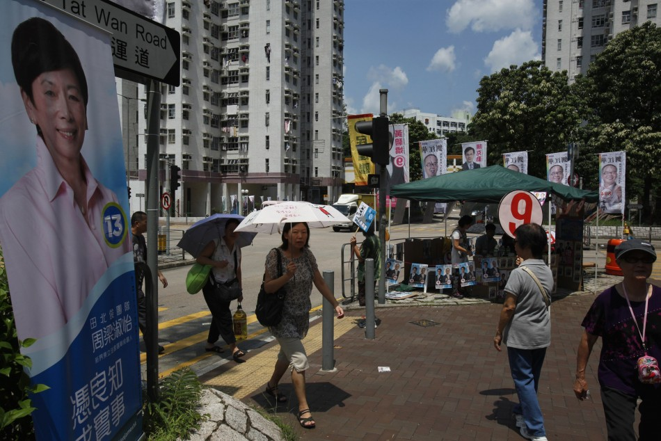 Hong Kong elections