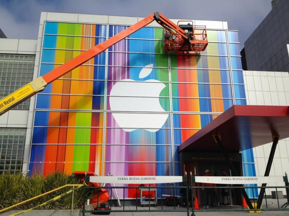 Apple Sets up Yerba Buena Centre for Upcoming iPhone 5 Event