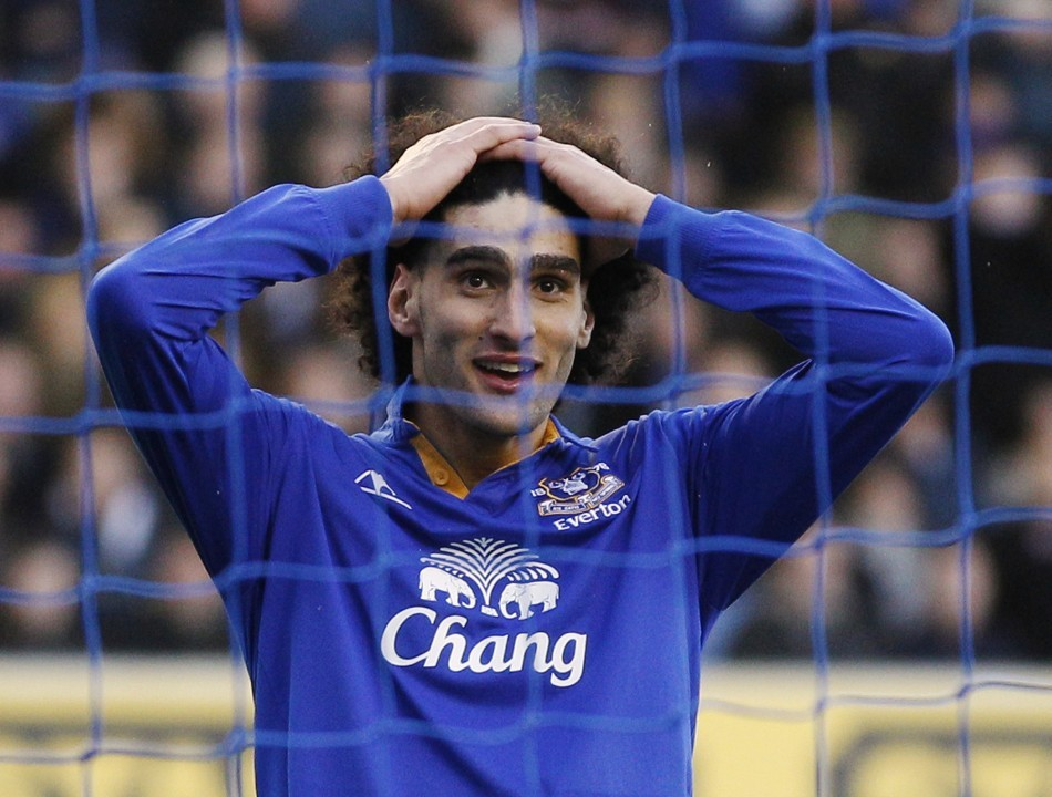Everton Midfielder Marouane Fellaini