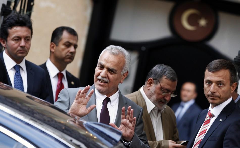 Iraq's fugitive Vice President Tareq al-Hashemi