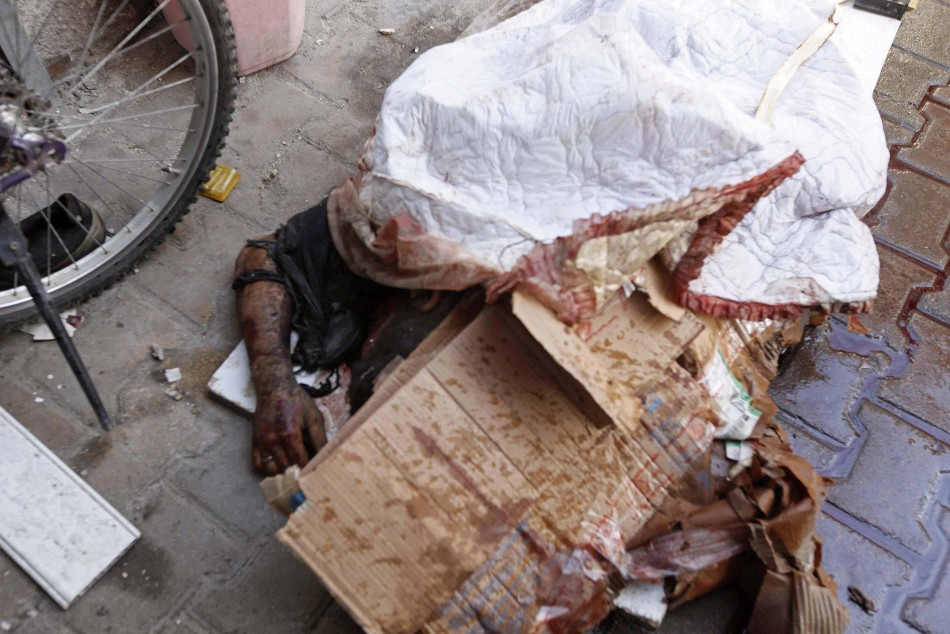 Syrian Civil War: The Aleppo Massacre In Pictures |Dead Syrians