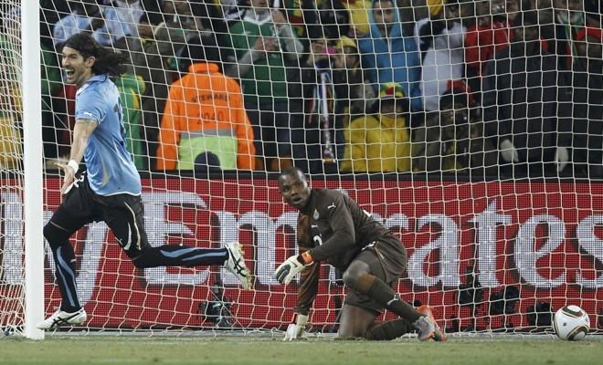 Ghana Goal Keeper Richard Kingson