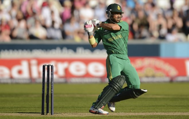 JP Duminy of South Africa