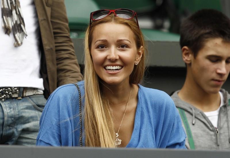Novak Djokovics girlfriend Jelena Ristic