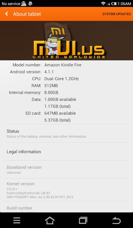 Kindle Fire Gets MIUI Based Android 4.1 Jelly Bean Update [How to Install]