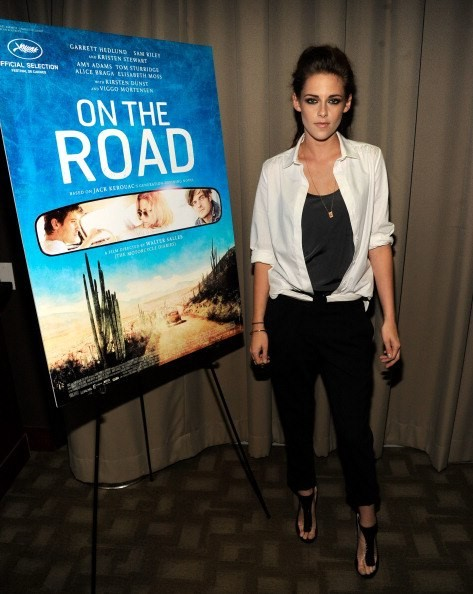 "Kristen Stewart ""On the Road"" screening at Disney Park Avenue in New York City"