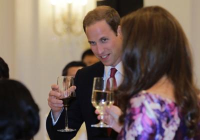 Prince William and Kate Middleton Start Singapore Tour