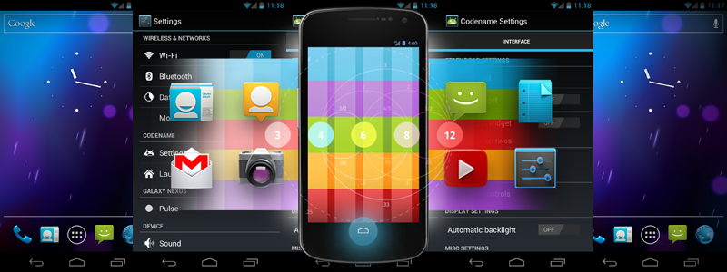 Galaxy Nexus i9250 Gets Jelly Bean Update with Codename Android 3.5 [How to Install]