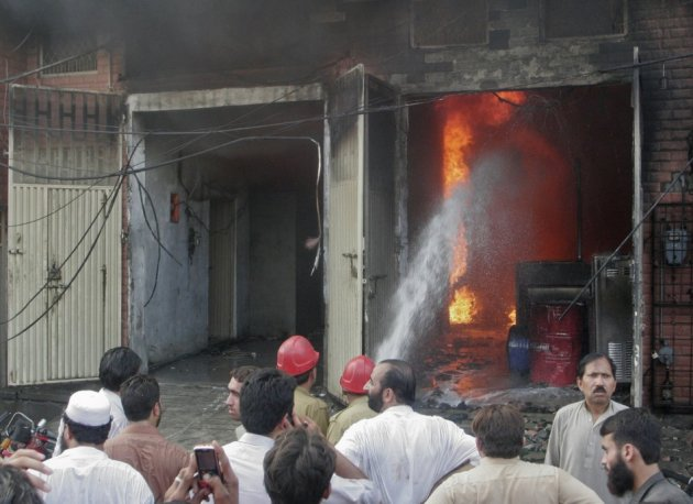 Factory Fires in Pakistan claims over 125 Lives