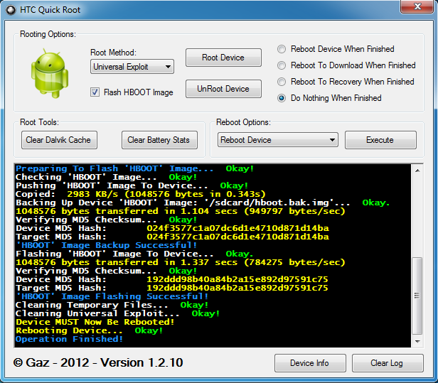 Root all HTC Android Devices with New HTC Quick Root Tool [Installation Guide]