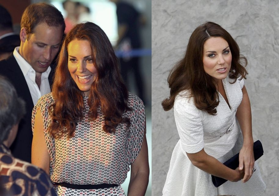 Kate Middleton and Prince William in Singapore
