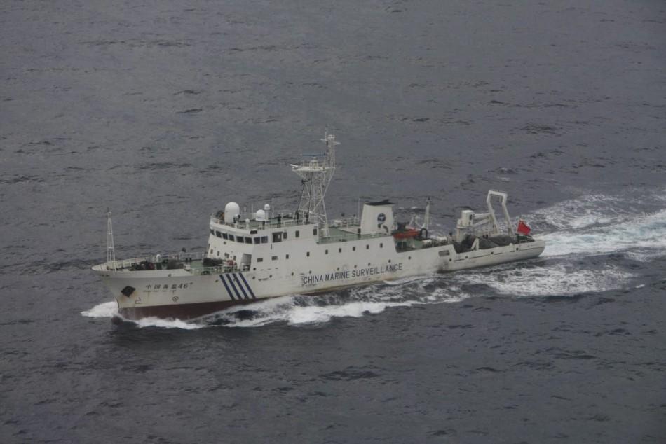 Chinese patrol ship
