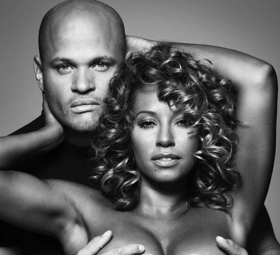 Mel B and husband Stephen Belafonte