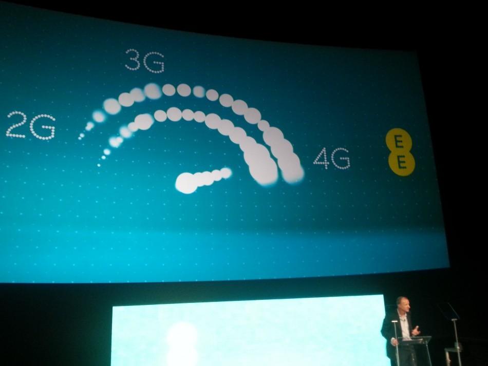 EE iPhone 5 4G LTE 1800