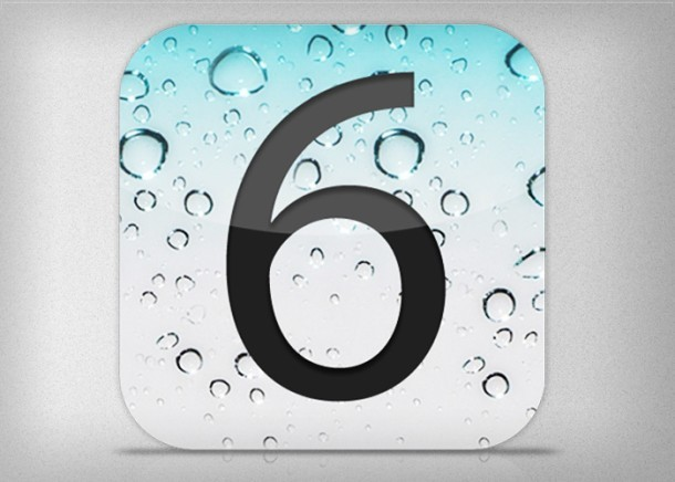 iOS 6 Release