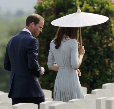 William and Kate in Singapore