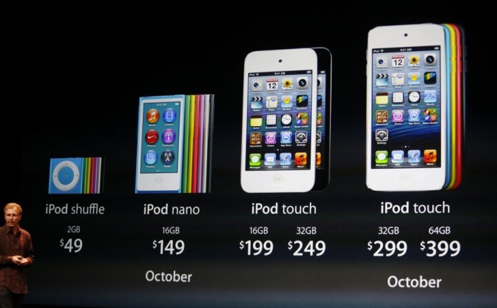 iPod touch iPod nano