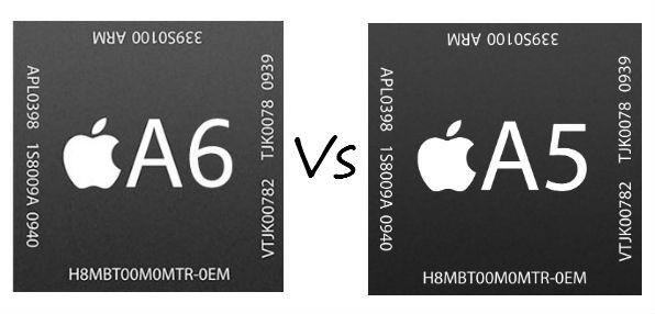 A6 versus A5 chip